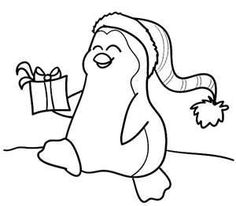 image detail for christmas penguin coloring page for kids kiboomu
