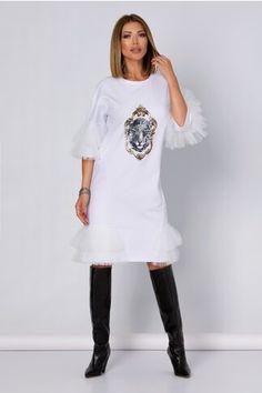 Pagina 2 - Rochii de Zi Casual - Preturi Avantajoase | DyFashion Peplum, Tunic Tops, Casual, Women, Fashion, Moda, Fashion Styles, Fashion Illustrations, Fashion Models