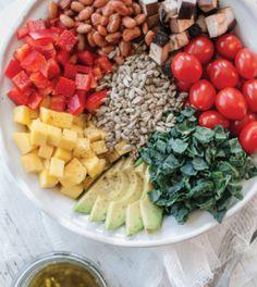 Portobello & Adzuki Bean Salad