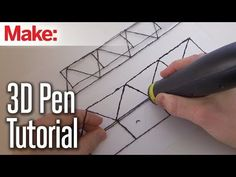 3D Printing Pen Tutorial | Make: DIY Projects, How-Tos, Electronics, Crafts and Ideas for Makers #3dprintinginfographic
