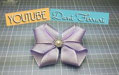 Olá amores, tudo bem? Hoje vamos ver como fazer um laço de fita, muito lindo e fácil. Vamos seguindo o tutorial passo a passo com muito detalhes. Ribbon bow ...