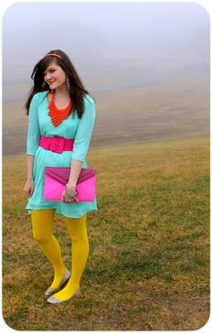<3 this look from the ModCloth Style Gallery! Cutest community ever. #indie #style I like the whole ensemble color-wise.