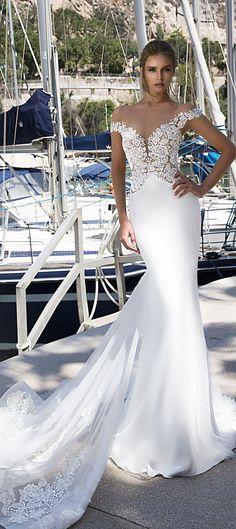 Tina Valerdi 2018 Bridal Collection - Wedding Dresses #bridalgown #weddinggown #weddingdress #bridedress