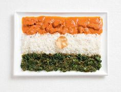 Distractify | National Flags Cooked Up From Each Country's Traditional Foods