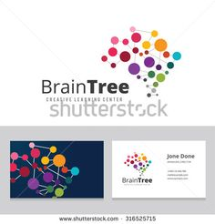Brain Tree,Brain Logo,Mine,Creative,Learning Logo,Education Logo,School,Kids,Arts,Business Card Vector Logo Template - 316525715 : Shutterstock