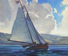 Dennis Ziemienski, Schooner, Tomales Bay
