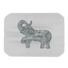 KESS InHouse Elephant Placemat