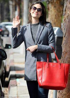 Parisian Minimalism and Red Bag Lusting