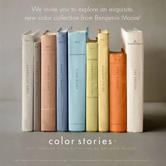 Latest colors from Benjamin Moore - great inspiration !