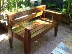 Hardwood hand made bench seats Furniture Ads, Outdoor Furniture, Outdoor Decor, Holland Park, Bench Seat, Brisbane, Hardwood, Handmade