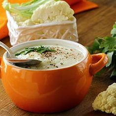 Make a quick and warming winter Cauliflower Soup Recipe without any hesitation. It makes a gentle start to a heavier meal, or serve it with crusty bre