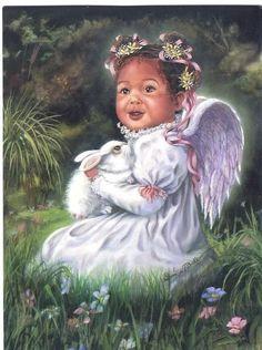 black art - angel