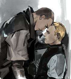 Detroit Become Human Markus and Simon Luther, Quantic Dream, Becoming Human, I Am Alive, Detroit Become Human, Ship Art, I Like Dogs, Fantastic Art, Best Games