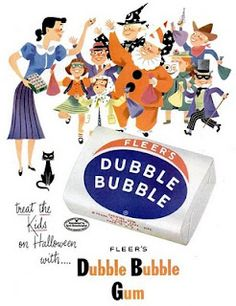 Dubble Bubble Gum....so hard to get during WW11