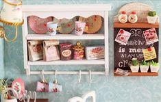 Sweet Kitchen DIY Dollhouse Miniature Dollhouse Kit by UniTime