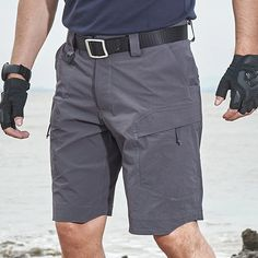 Archon Quick Dry Tactical Stretch Shorts are engineered to provide superior performance in hot and humid climates. Super lightweight and durability. Buy best Waterproof Tactical Shorts at lowest price now. Tactical Supply, Tactical Gear, Tactical Cargo Pants, Combat Shirt, Hot And Humid, Stretch Shorts, Shirt Jacket, Quick Dry, How To Wear