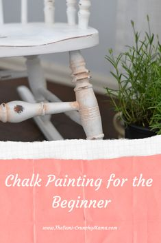 Are you just starting out and wanting to chalk paint furniture? Check out my easy tips and steps for beginners on how to chalk paint furniture.