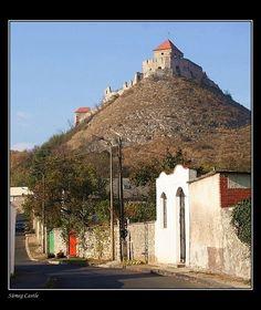 View to de Sümeg Castle, was built before de mid 13th century at Castle Hill (Várhegy) in Sümeg, Veszprem_ West Hungary