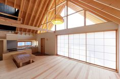 A Gabled Roof in Kawagoe Tailored design Lab