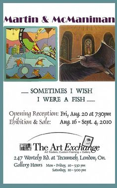 Art Show Invitation Sample - 0425