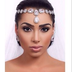 bridal jewelry headband headpiece bling