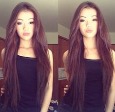 Okay, another of Vivian... another of her styles, wish mine would do this (my hair is close to same length)