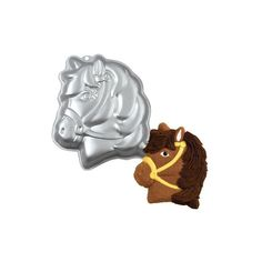 & Cake Decorating Party Pony Horse Cake Pan From Wilton 1011 - & Garden Wilton Cake Pans, Cake Baking Pans, Pony Horse, Horse Head, Pony Head, Shaped Cake Pans, Horse Cake, Head Shapes, Cupcakes