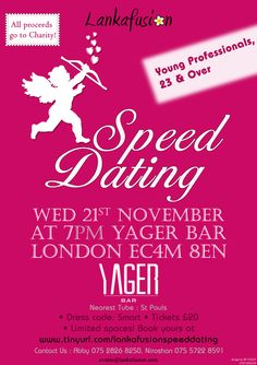 Speed Dating Young professionals Londen