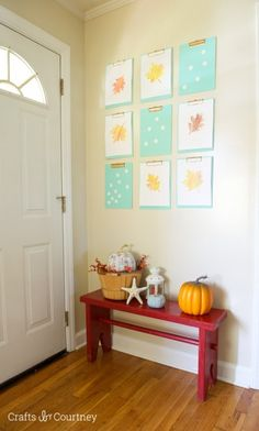 DIY Clipboard Makeover for Fall - Crafts by Courtney