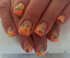 flowers by Janayna - Nail Art Gallery nailartgallery.nailsmag.com by Nails Magazine www.nailsmag.com #nailart