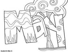 Month Doodles - Bing images