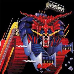 USED VINYL RECORD 12 inch 33 rpm vinyl LP Released in 1984, Defenders of the Faith is the 9th studio album by British heavy metal band Judas Priest. The album was recorded at Ibiza Sound Studios. Colu