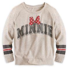Minnie Mouse Long Sleeve Raglan Tee for Women