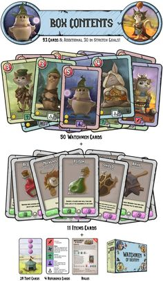 Assembly a great army of watchmen & protect the Tree of Destiny. Use special abilities & make tough choices. Card game for 2-4 players.