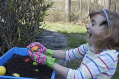 Gardening and Sensory Development *great info from guest writer and special needs consultant Dr. Melissa Liguori, Ed. D.