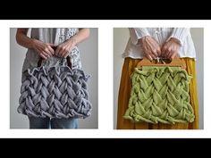 Videolu, Şiş Örgü Çanta Modeli Yapılışı - Mimuu.com