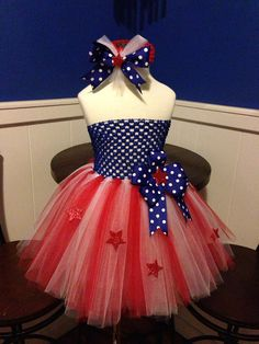 4th of July Tutu Dress by Arribelle on Etsy, $40.00