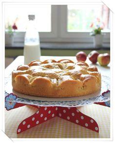 Tarta de manzana, una tarta de cumpleaños fácil