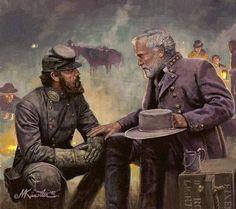Lee and Jackson: La Pintura y la Guerra. Sursumkorda in memoriam