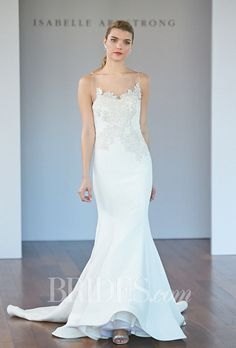 Brides.com: Isabelle Armstrong - Fall 2014. Wedding dress by Isabelle Armstrong  See more wedding dresses in our gallery.