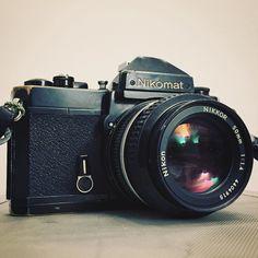 Una clásica #nikomat de @shp224 . A ver si hago algunas fotos con film #andresharambour