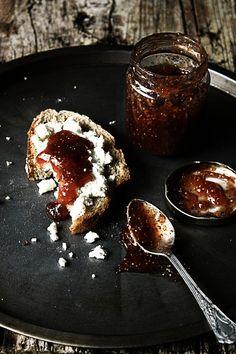 Pratos e Travessas: Doce de figos   Fig jam   Food, photography and stories