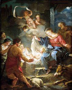pintura barroca navidad - Buscar con Google