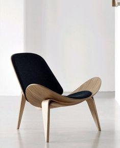 Shell chair.