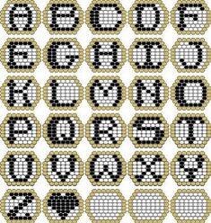 Peyote Beadwork Patterns Free Printable Patterns they really fast . - Peyote Beadwork Patterns Free Printable Patterns they work really fast … – # - Pony Bead Patterns, Beaded Jewelry Patterns, Peyote Patterns, Bracelet Patterns, Beading Patterns Free, Embroidery Patterns, Hand Embroidery, Weaving Patterns, Motifs Perler