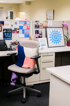 The Joffrey Ballet Development Assistant Allie McCarthy's office #office #career #theeverygirl