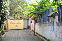 Pour découvrir l'Amérique Centrale, ce que tu dois savoir (Detour Local) -> Les installations touristiques du village de San Pedro la Laguna, Guatemala www.detourlocal.com/amerique-centrale-facile-decouvrir-dois-savoir/