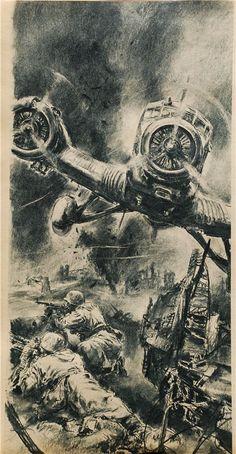 """Hans Liska . Stalingrad (""""Signal"""")"""