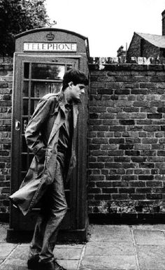 Sam Riley as Ian Curtis from the movie Control, Directed by Anton Corbijn