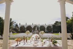 Wedding Ceremony is perfect for an outdoor venue!